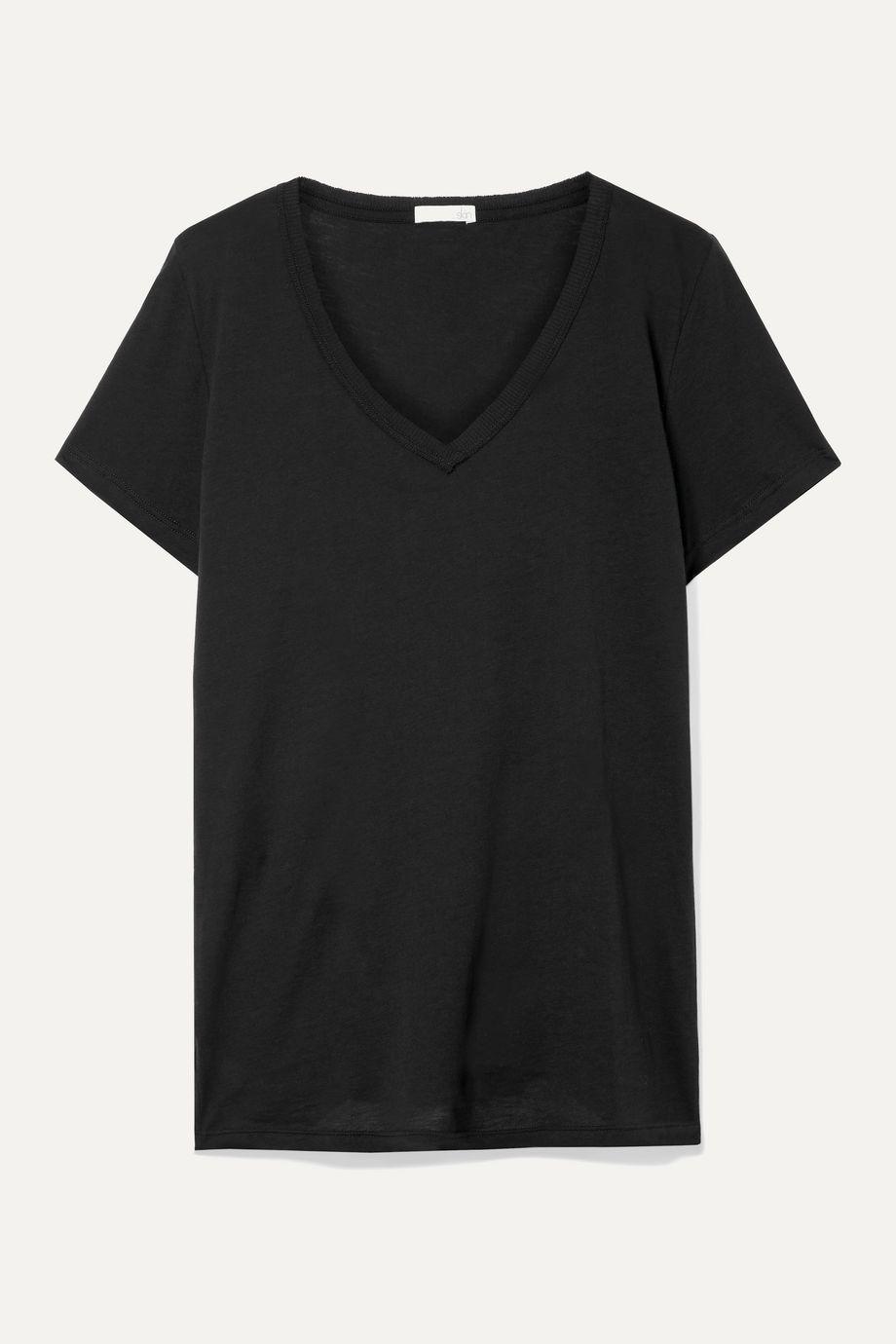 Skin Essentials T-Shirt aus Pima-Baumwoll-Jersey