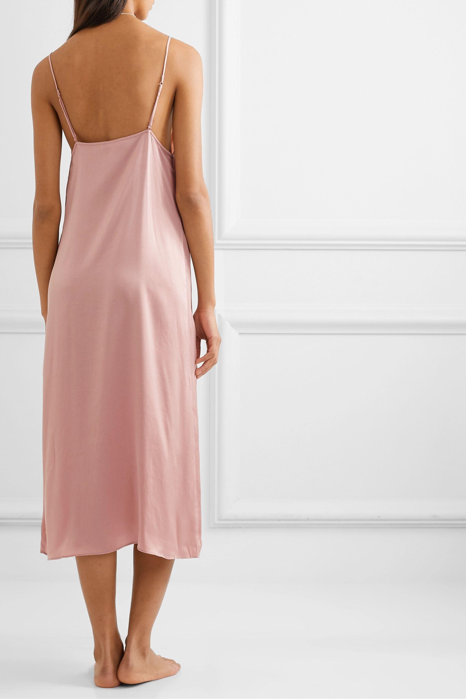 Skin Rosamonde stretch-silk satin chemise