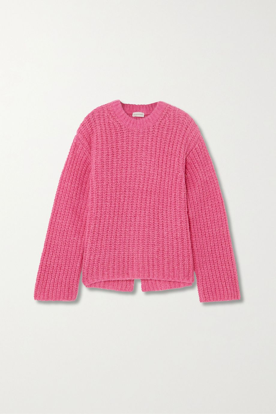 By Malene Birger + NET SUSTAIN Nosema open-back alpaca-blend sweater