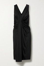By Malene Birger Vella draped satin-jersey dress