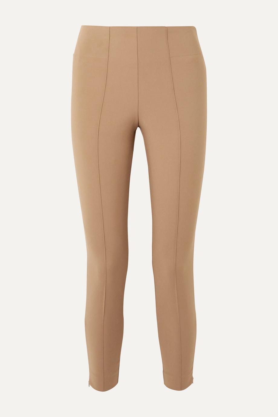 By Malene Birger Adelio stretch cotton-blend cady skinny pants
