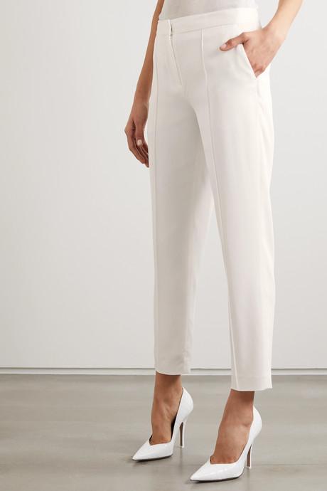 Santsi cropped slim-fit pants