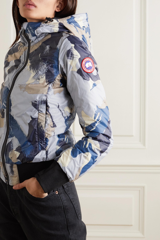 Canada Goose Dore Daunenjacke aus Shell mit Camouflage-Print und Kapuze