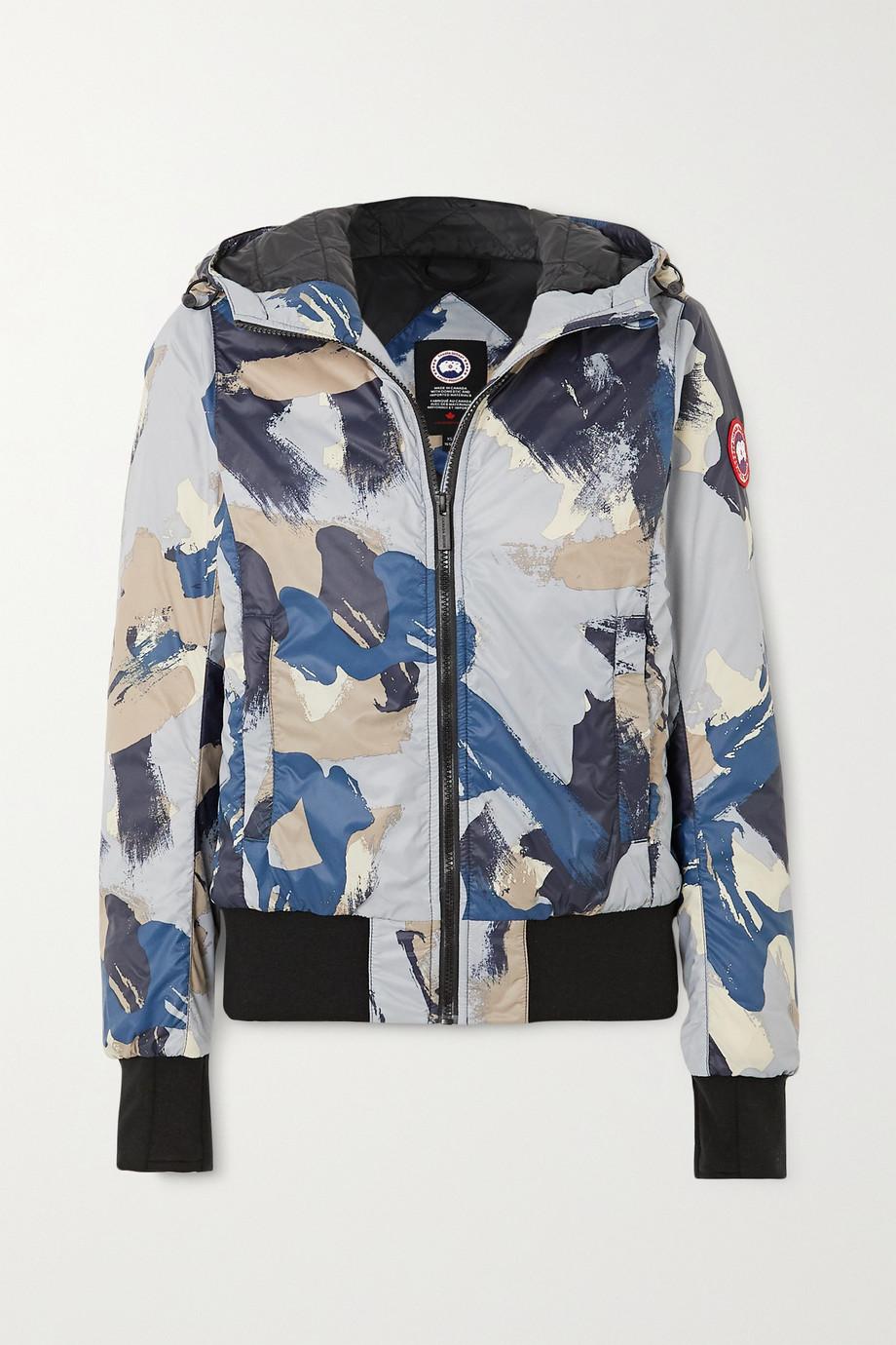 Canada Goose Veste à capuche en tissu technique et en duvet à imprimé camouflage Dore