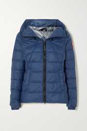 Canada Goose Abbot hooded quilted shell down jacket