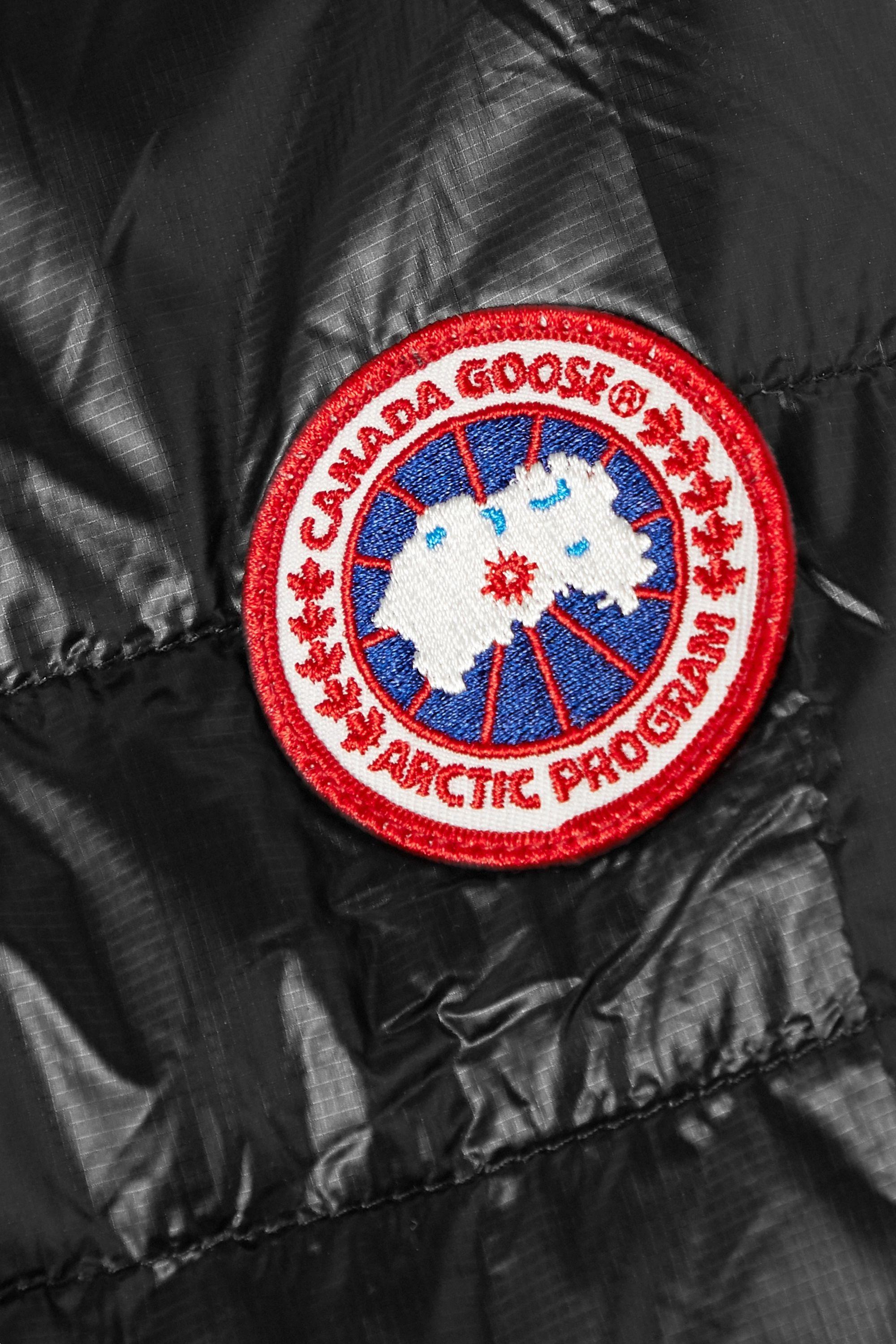 Canada Goose HyBridge® Lite Daunenjacke aus gestepptem Ripstop