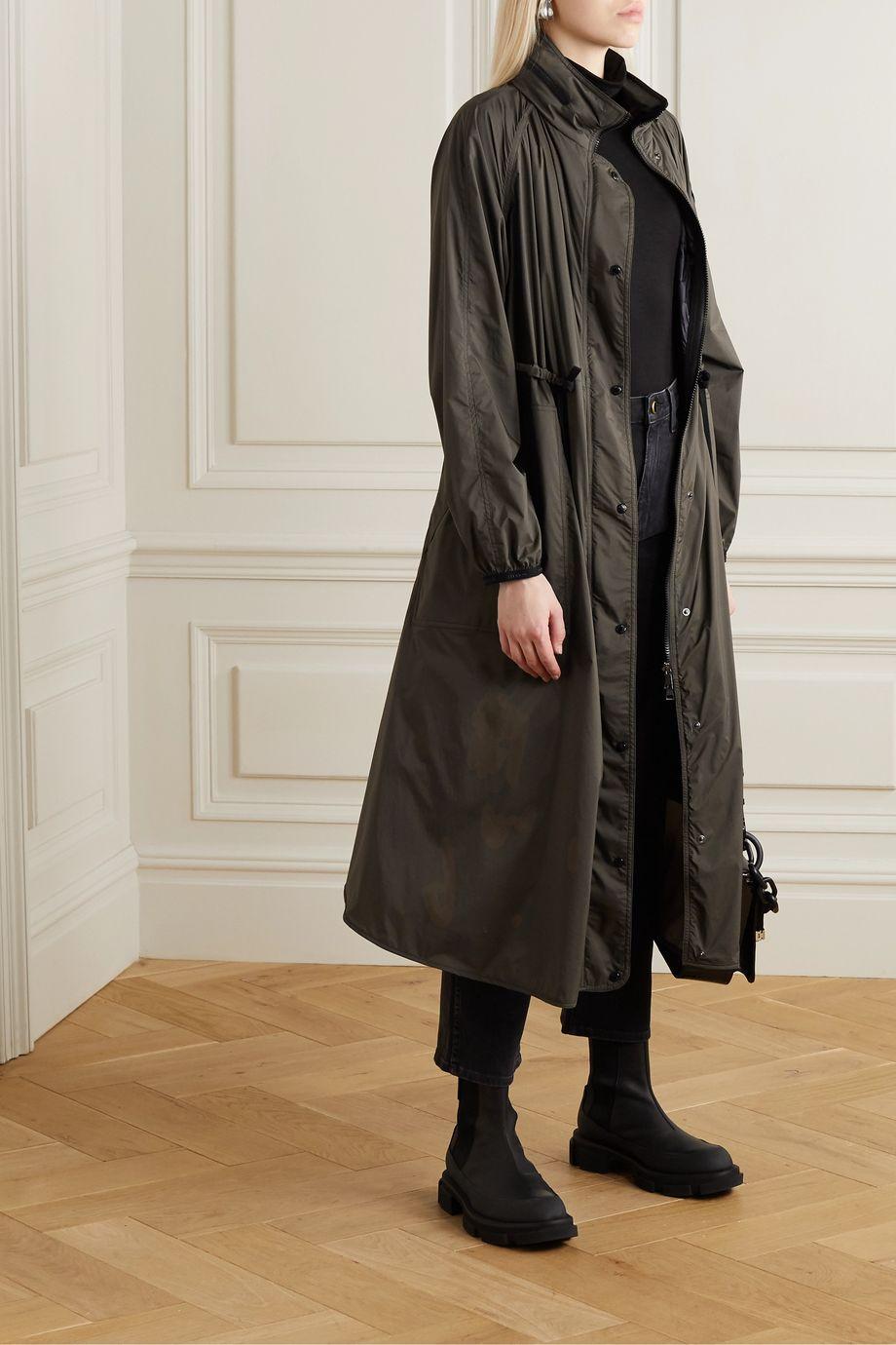 Moncler Hooded shell raincoat