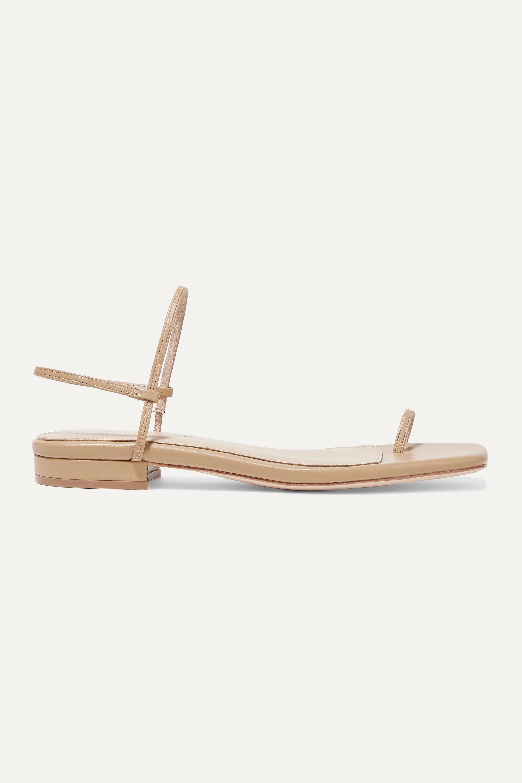 STUDIO AMELIA Slingback-Sandalen aus Leder