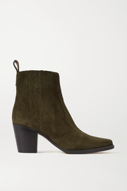 GANNI Bottines en daim Callie