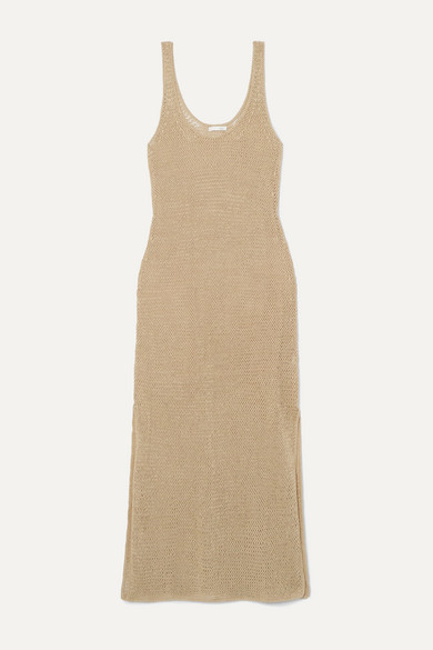 Skin Dresses LOUISA CROCHETED COTTON MAXI DRESS