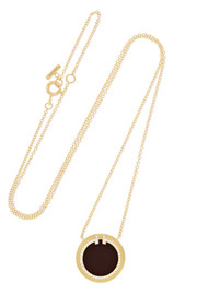 Tiffany & Co. T Two 18-karat gold, onyx and diamond necklace