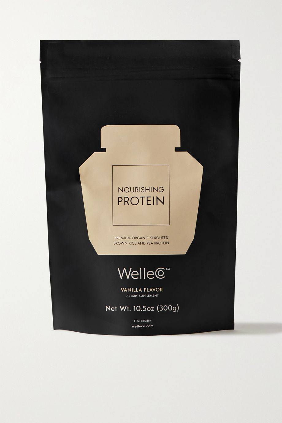 WelleCo Nourishing Protein - Natural Vanilla, 300g
