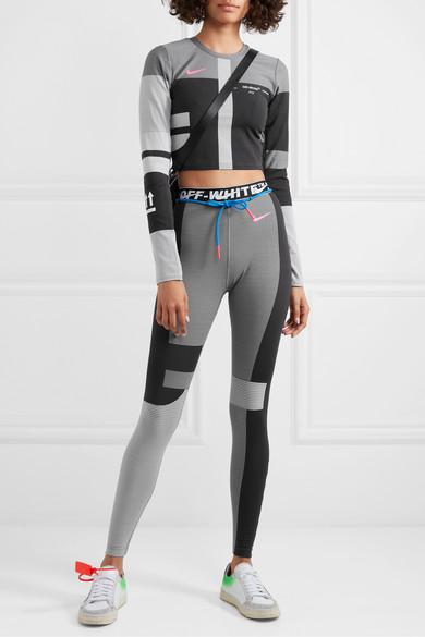 off white x nike leggings