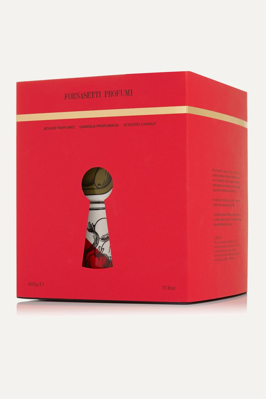 Fornasetti Cocktail scented candle, 900g