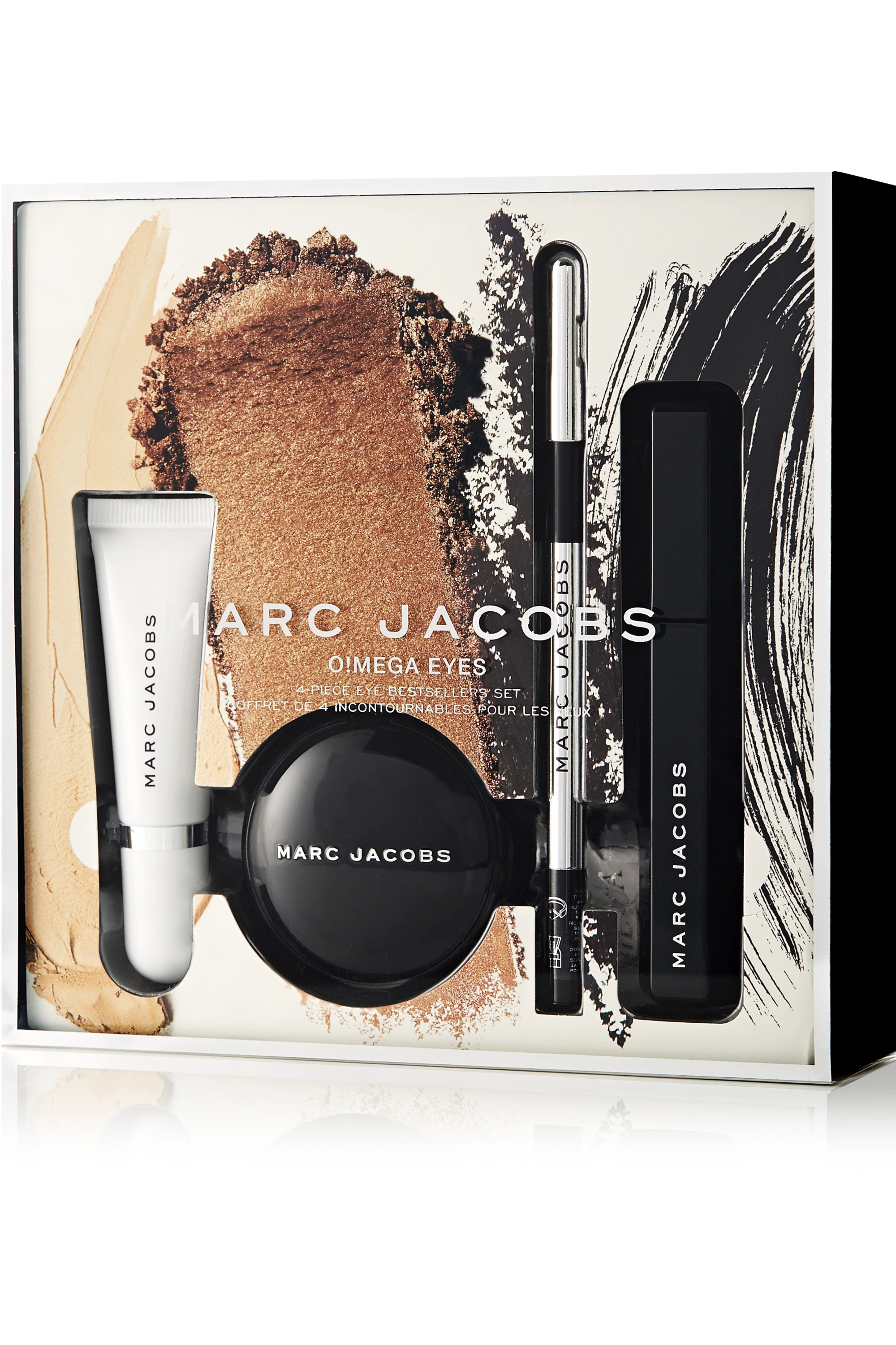 Marc Jacobs Beauty O!mega Eyes 4-Piece Beauty Bestsellers Collection – Augen-Make-up-Set