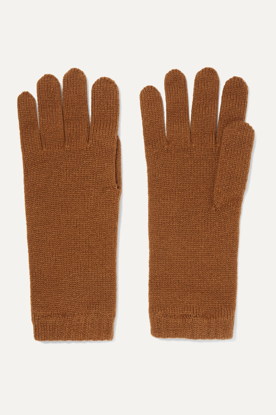 Johnstons of Elgin + NET SUSTAIN cashmere gloves
