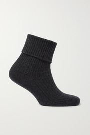 Johnstons of Elgin + NET SUSTAIN cashmere socks
