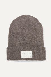 Addison ribbed-knit beanie