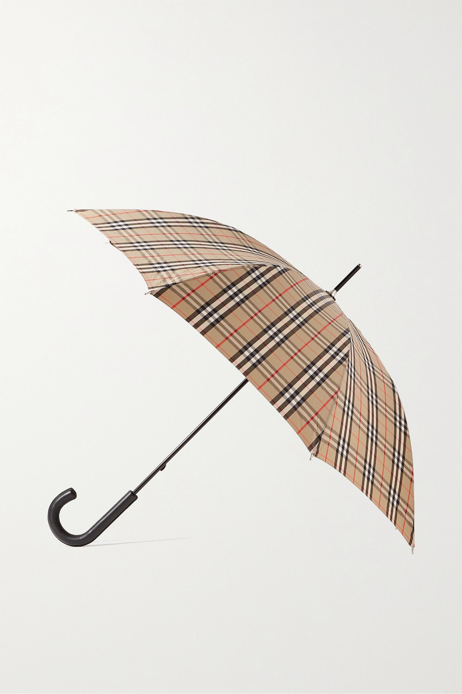 Burberry Regenschirm aus kariertem Shell