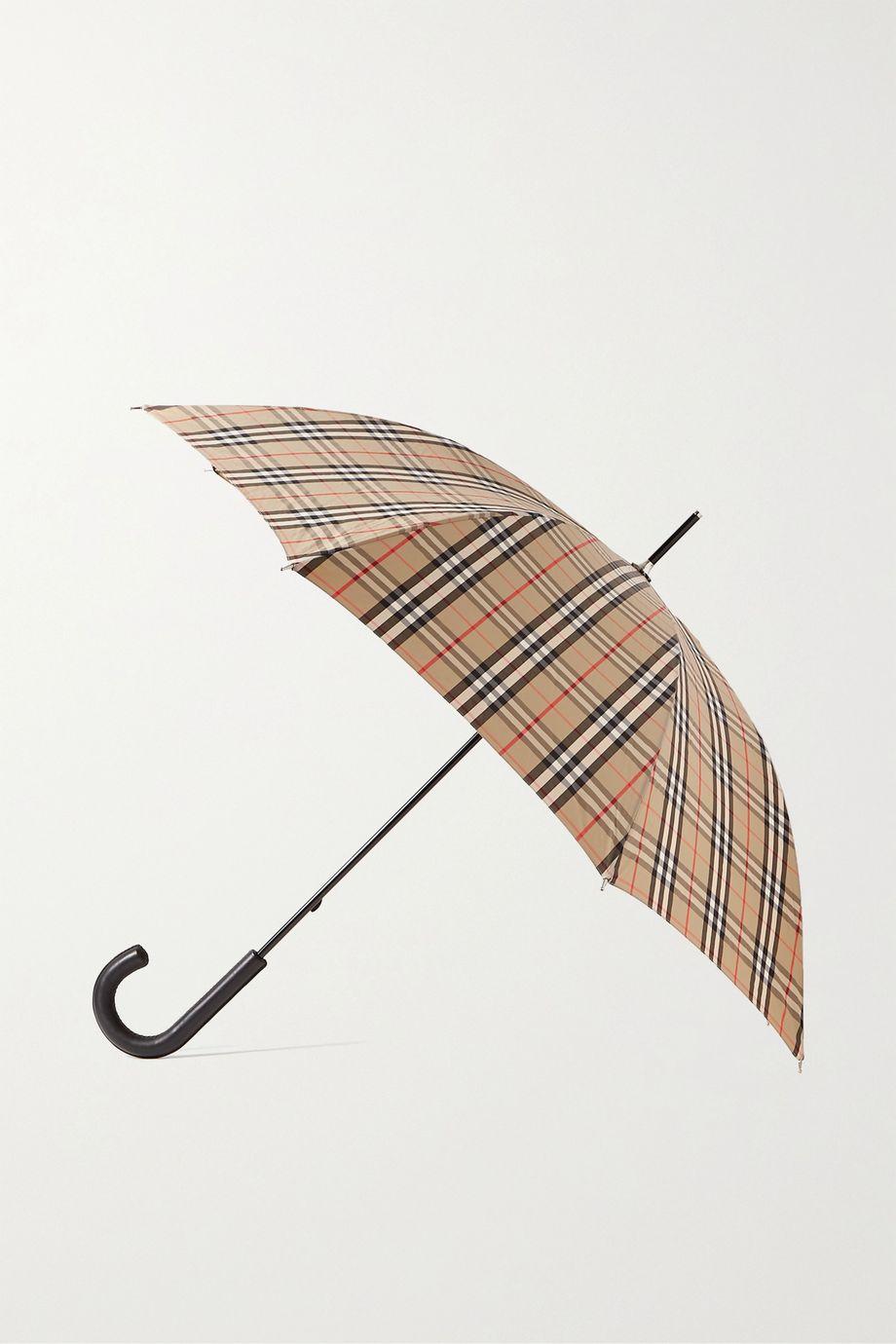 Burberry Checked shell umbrella