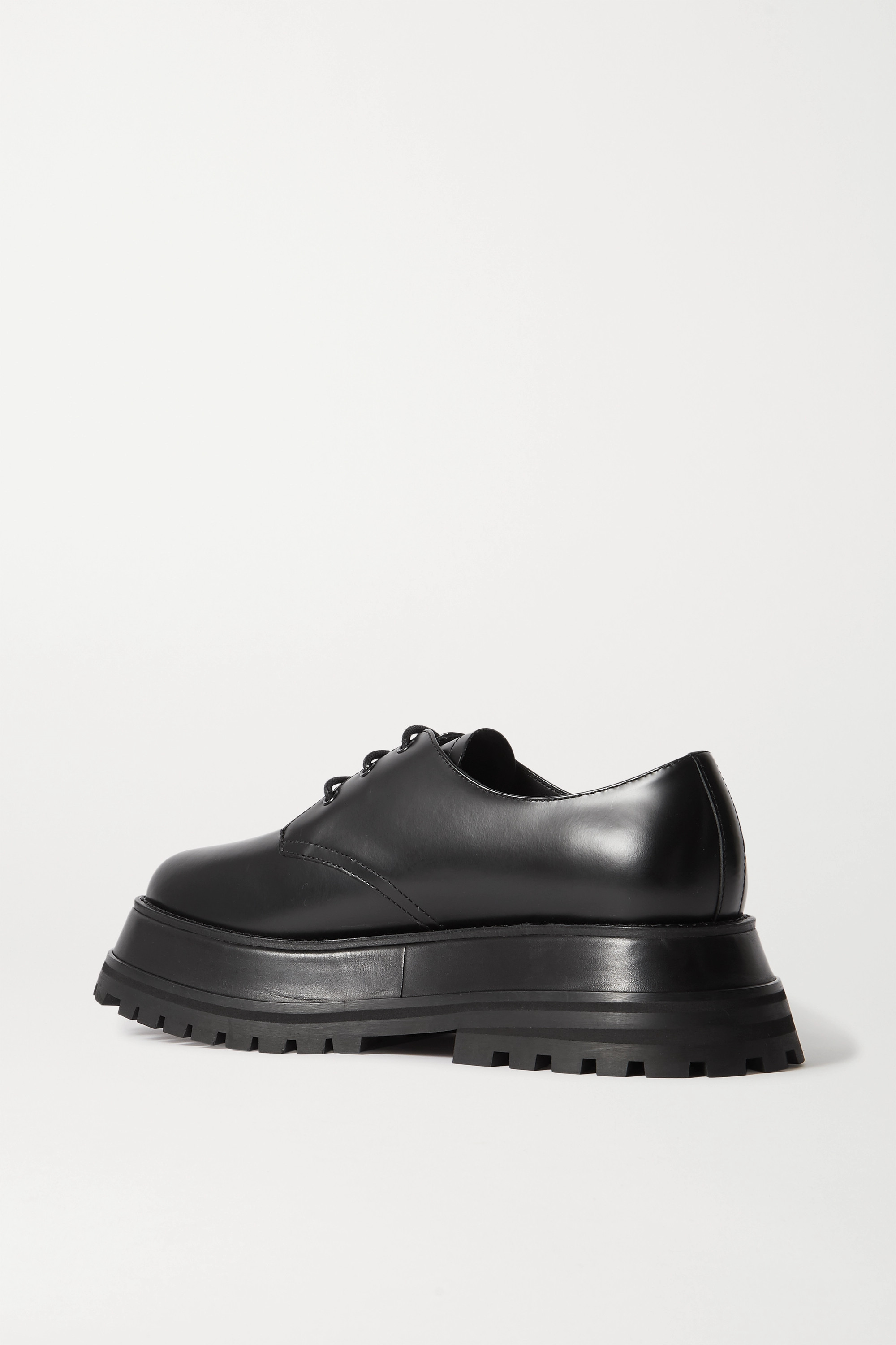 Burberry Guild leather platform brogues
