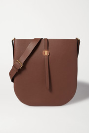 Burberry Textured-leather shoulder bag
