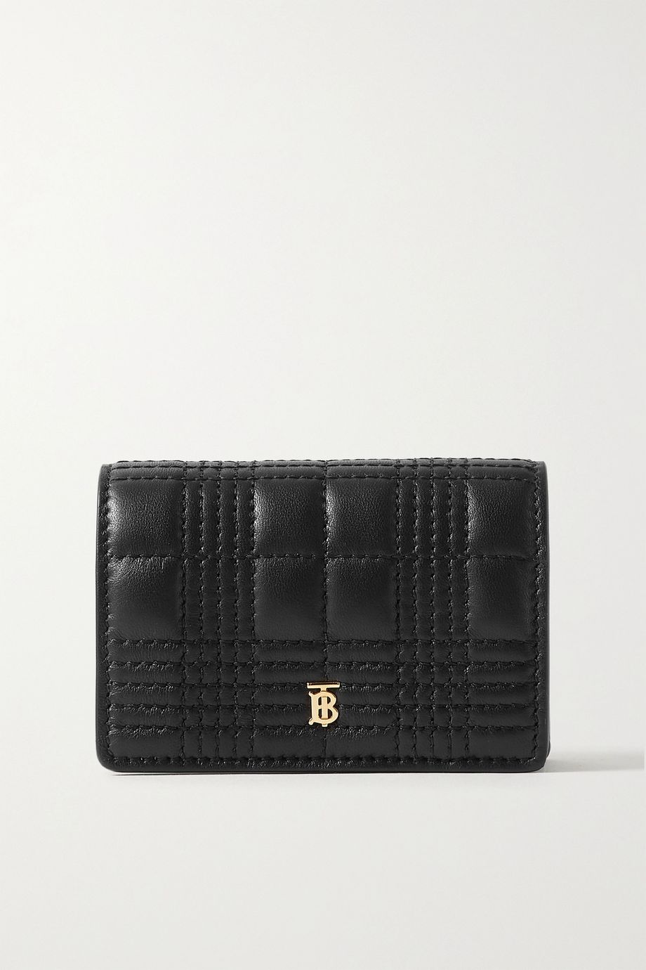 Burberry Quilted leather cardholder