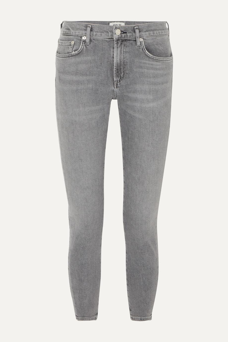 AGOLDE Toni mid-rise straight-leg jeans