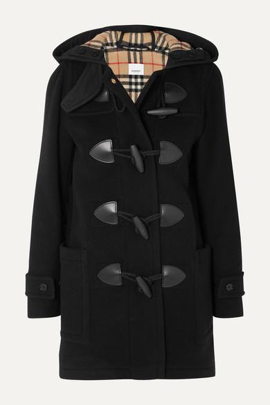Burberry Coats Hooded wool-blend felt coat