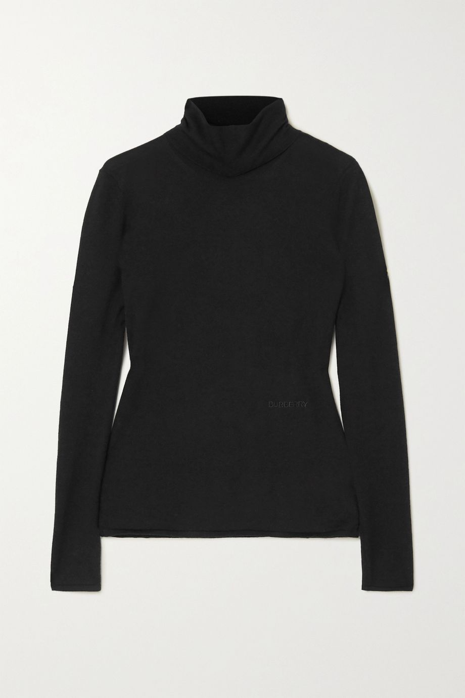 Burberry Cashmere and silk-blend turtleneck sweater