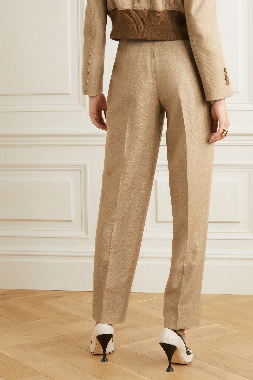 Burberry Wool-blend twill straight-leg pants