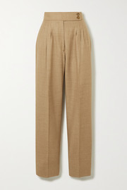 Burberry Wool-blend twill straight-leg pants