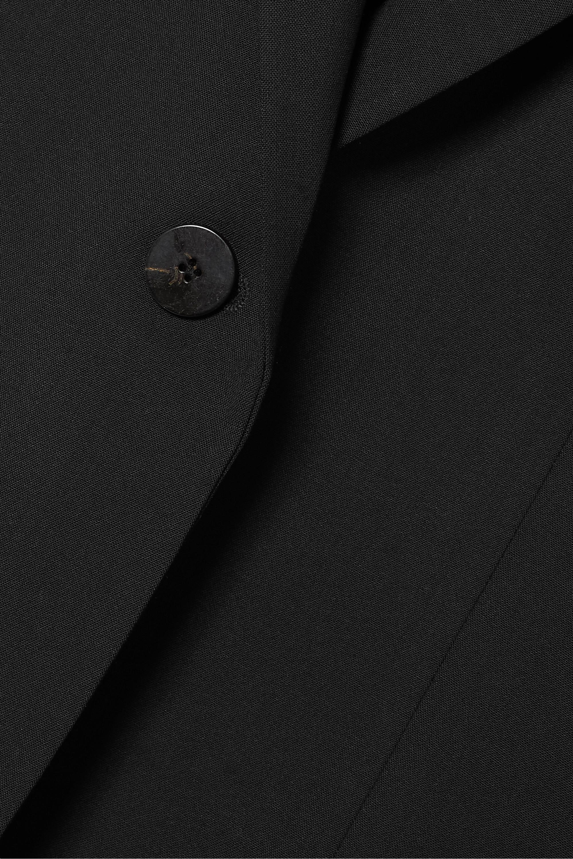 Black Classic Stretch-wool Blazer | Theory