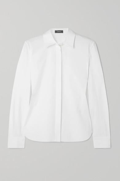 Theory T-shirts Cotton-blend shirt