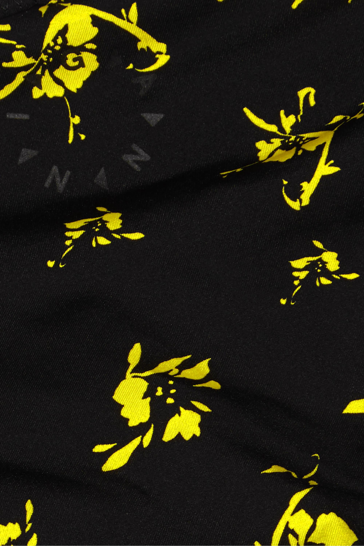 GANNI Floral-print bikini briefs