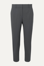 Treeca stretch-wool tapered pants