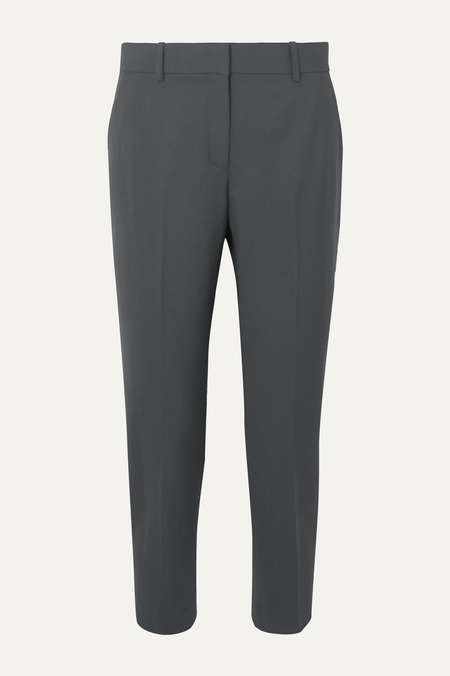 Theory | Treeca stretch-wool tapered pants | NET-A-PORTER.COM