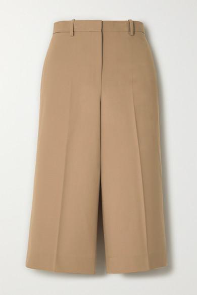 Theory Pants Stretch-wool culottes