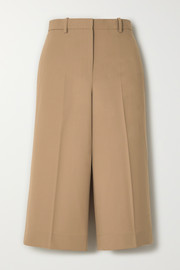 Culottes aus Stretch-Wolle