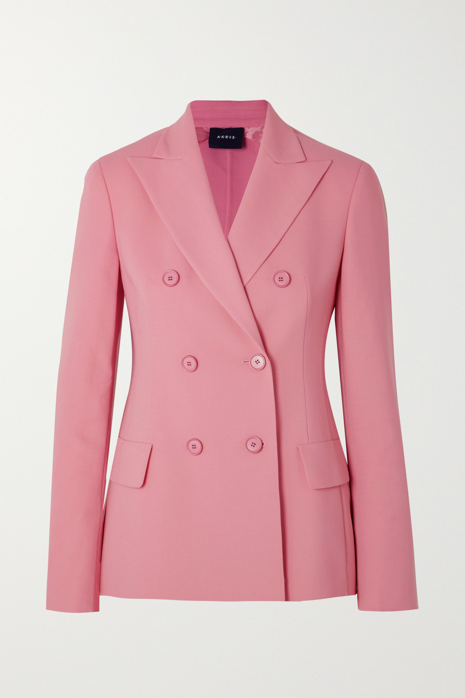 Akris Genaro double-breasted wool-blend blazer