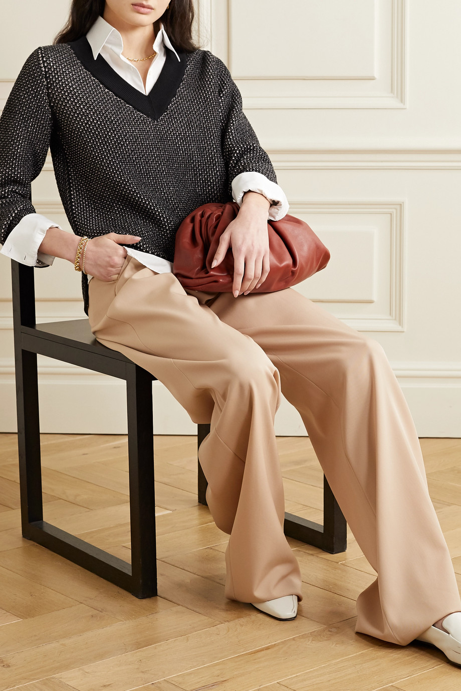 Akris Cashmere and cotton-blend sweater