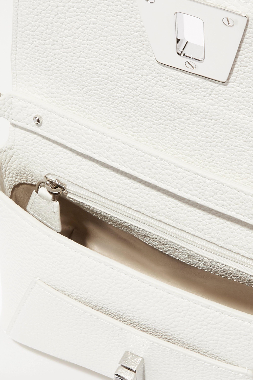 Akris Anouk Schultertasche aus strukturiertem Leder