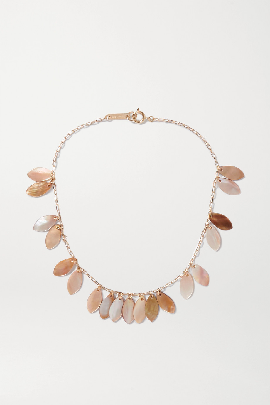 Isabel Marant Ali gold-tone shell necklace