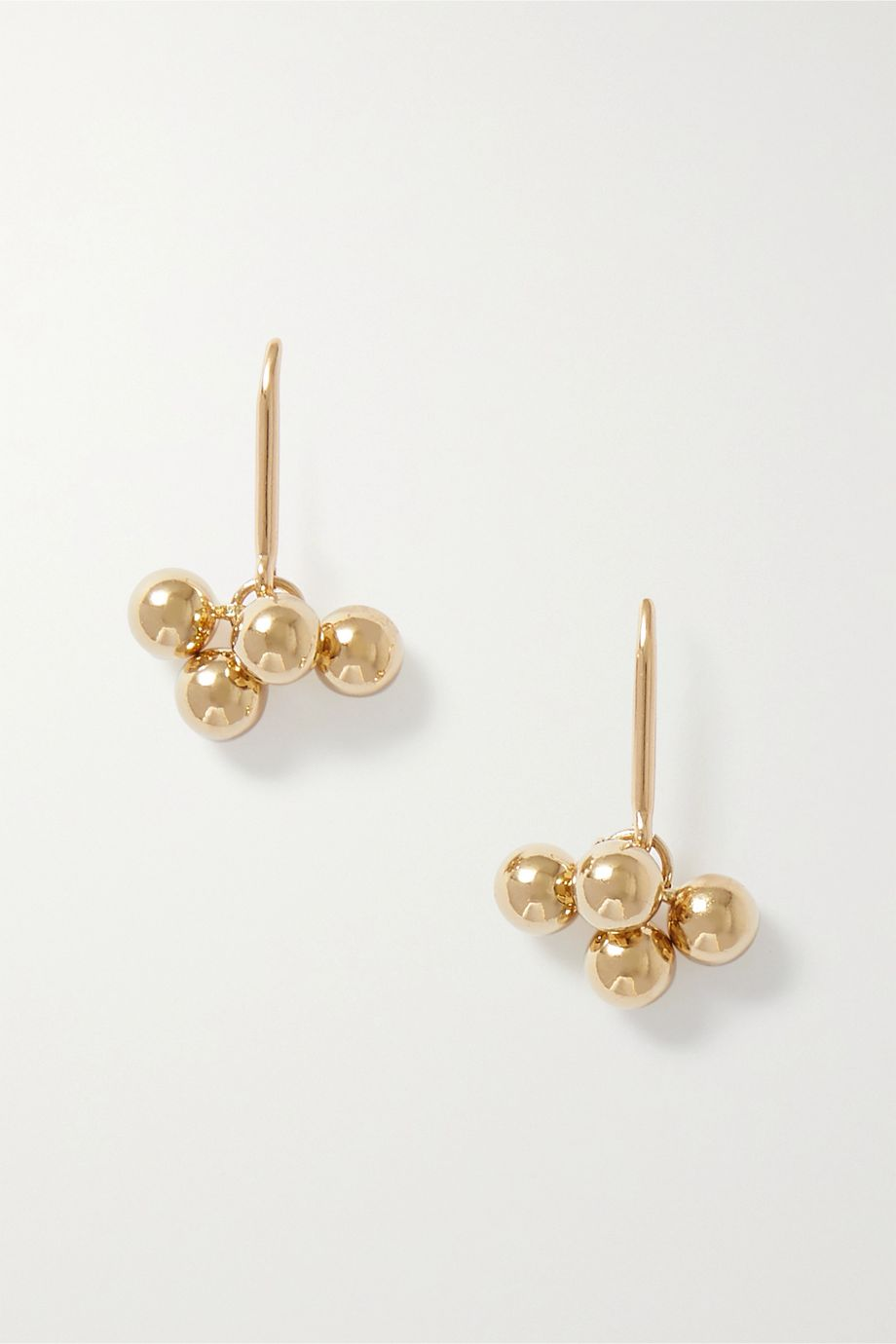 Isabel Marant Oh gold-tone earrings