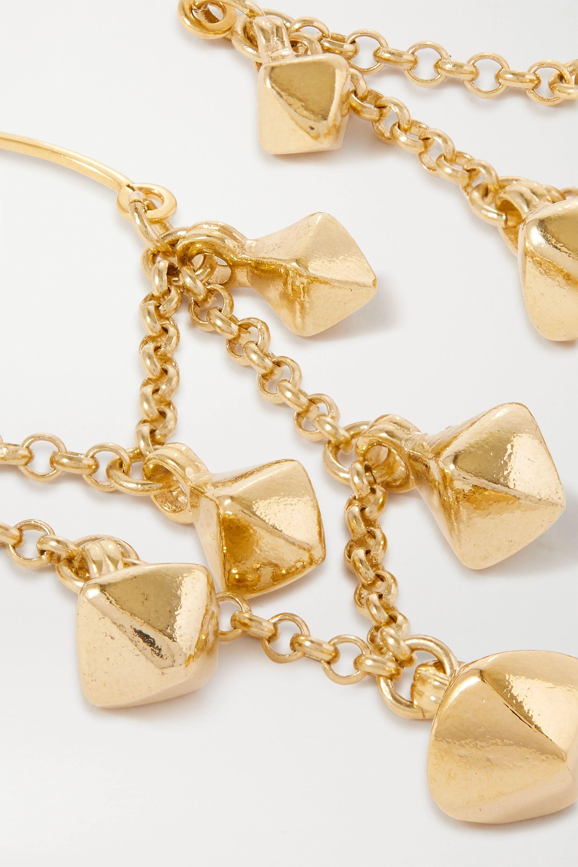 Isabel Marant Boucles d'oreilles en métal doré Tanganyika