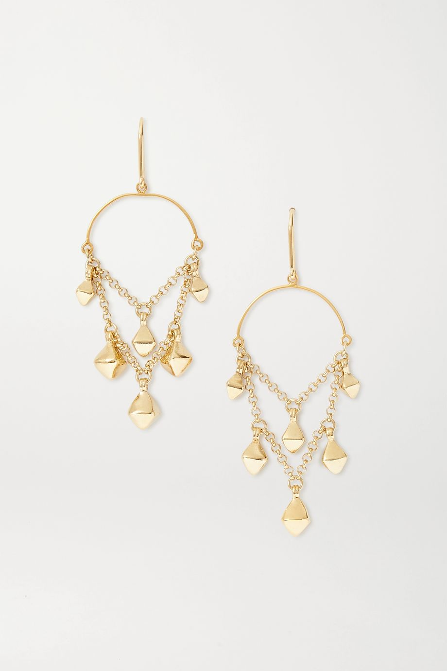 Isabel Marant Tanganyika gold-tone earrings