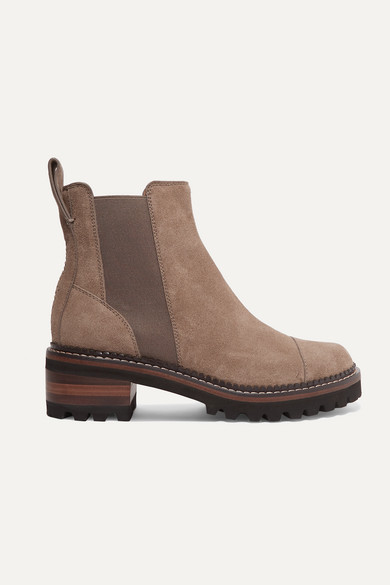 See By Chloé Boots SUEDE CHELSEA BOOTS