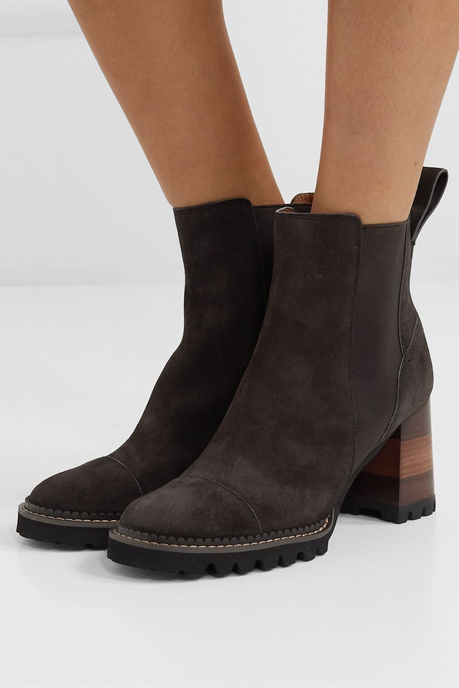 See By Chloé Suede ankle boots