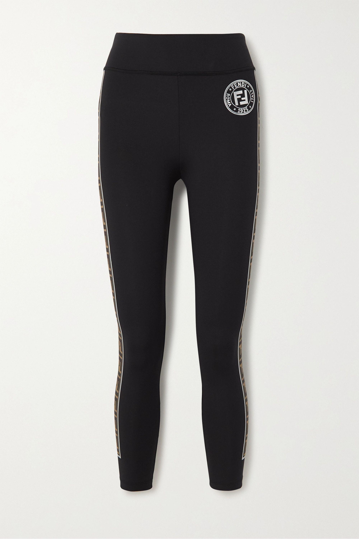 Fendi Printed stretch leggings