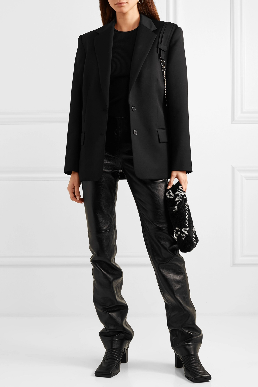 Commission Purse chain-embellished twill blazer